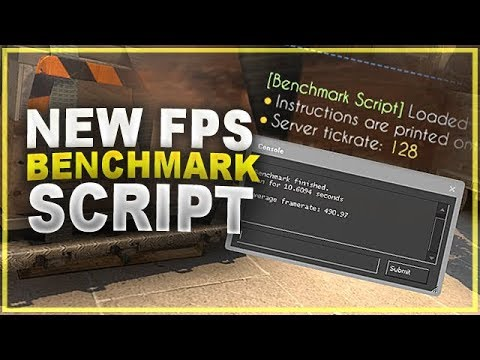 CS:GO - NEW FPS Benchmark Script (Installation & Creating A Path Guide)