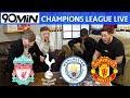 LIVE CHAMPIONS LEAGUE QUARTER-FINAL DRAW! Liverpool vs Porto! Spurs vs Man City! Barca vs Man United