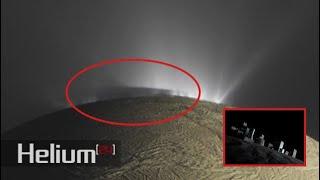 """Masiva """"estructura"""" aparece en la luna más grande de Saturno, Encélado"""
