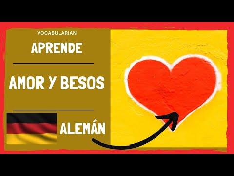 Palabras De Amor Y Cariño En Alemán Lieben Youtube