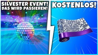 This will happen at 0 o'clock in Fortnite! (New Year's Eve) Free gift for everyone!