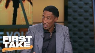 Scottie Pippen reacts to Lonzo Ball