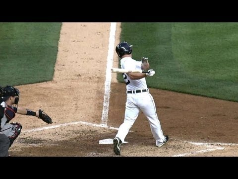 MIN@DET: Dirks connects on a solo homer in the third