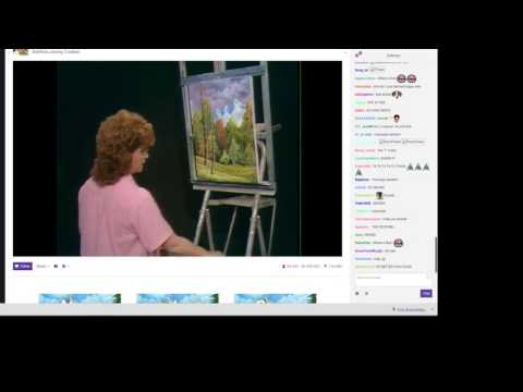 Bob Ross Twitch Stream (With Chat)