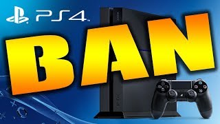 "PS4 BAN WARNING - EVERYONE NEEDS TO HEAR THIS! ""Gaming News"""