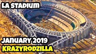 LA STADIUM Rams and Chargers | January 2019
