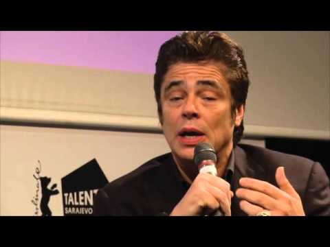 Triggers of Cinematic Curiosity - Master Class by Benicio Del Toro
