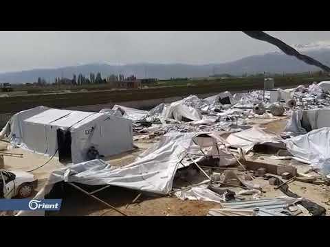 الجيش اللبناني يدمر مخيم الياسمين للاجئين السوريين ويعتقل 88 شخص  - سوريا  - 19:53-2019 / 4 / 24