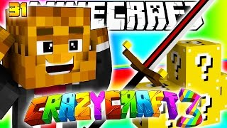 Minecraft CRAZY CRAFT 3.0 - SUPER LUCKY BLOCKS FOR BIG BERTHA #31 | JeromeASF