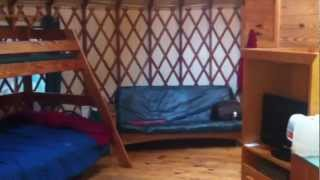 Yurt Bunk Bed & Futon