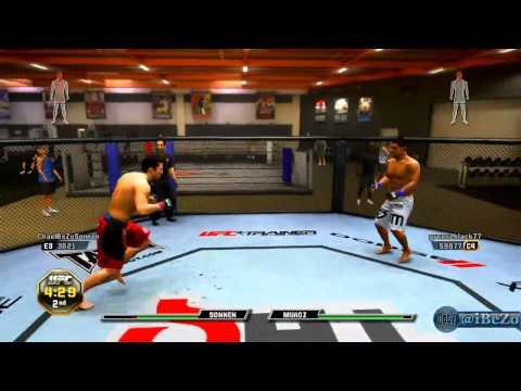 UFC Undisputed 3 - Online Fight vs 186-3 Kid [Close Fight]