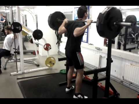 3 x 4 x 145kg (2nd set) Soviet Peaking Program