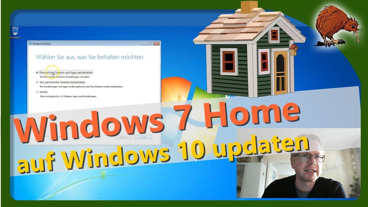Auf Windows 10 Updaten