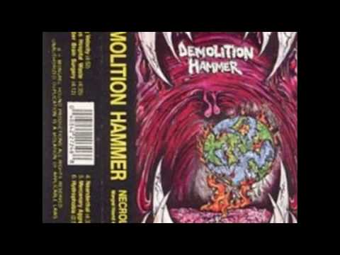 "DEMOLITION HAMMER - ""Necrology"" FULL DEMO (1989)"