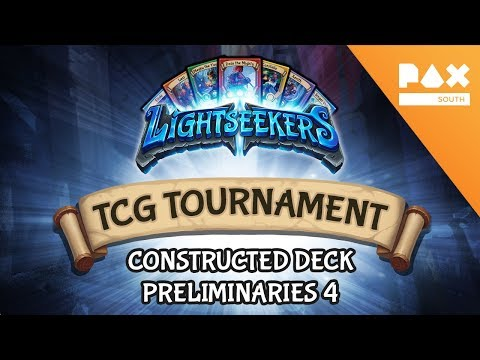 Pax South 2018 Constructed Deck Tournament - Preliminaries 4