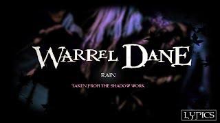 WARREL DANE - Rain (LYRIC VIDEO)