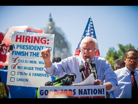 Bernie Sanders is introducing a new Minimum wage Bill