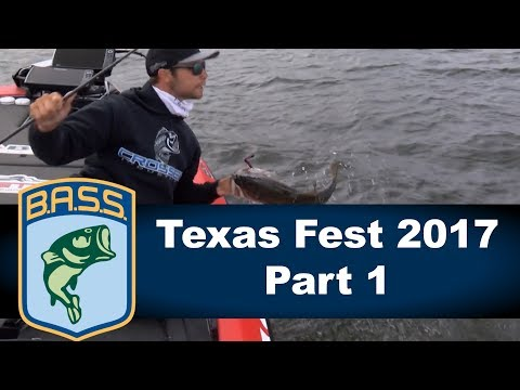 Bassmaster Elite: Texas Fest 2017 Part 1