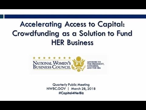 Accelerating Access to Capital: Crowdfunding as a Solution to Fund HER Business | #Capital4HerBiz