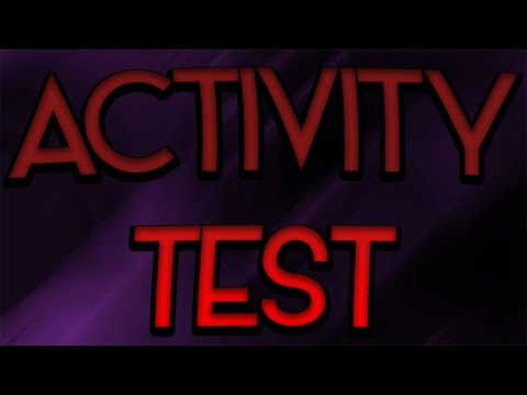 ACTIVITY TEST - ARE U GUYS STILL THERE???