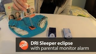 DRI Sleeper eclipse bedwetting alarm with additional parental monitor alarm *special package*