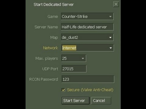 How To Make A Counter Strike 1.6 Server ( Step By Step )