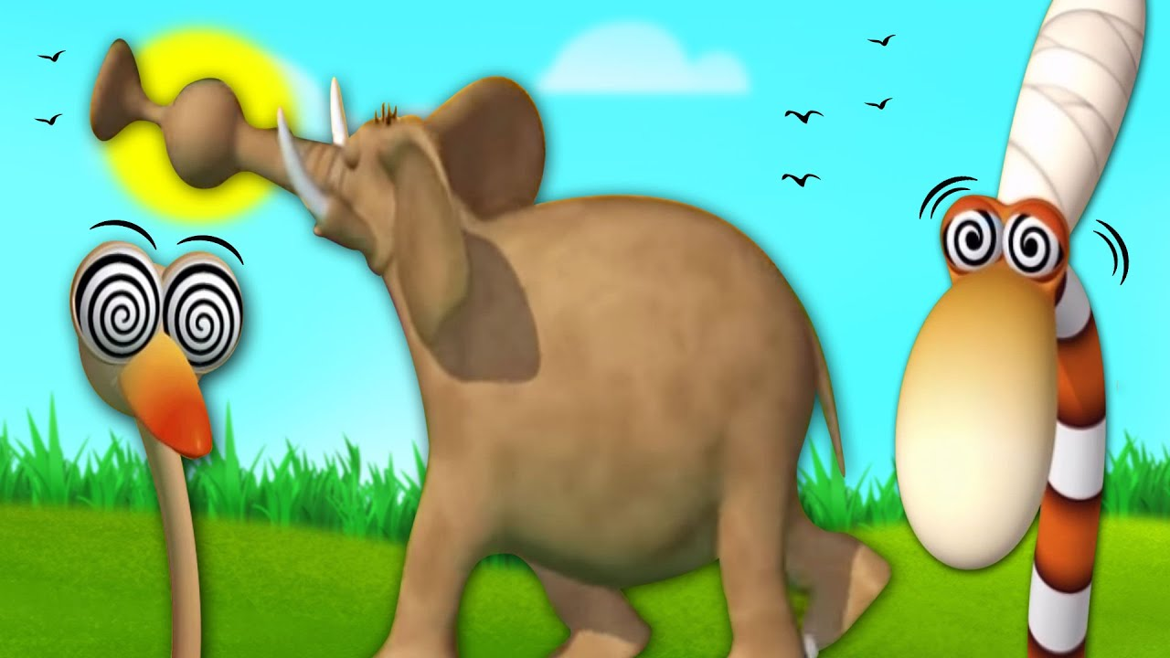 Jungle Beats Charm | Fun in the Jungle | Gazoon | Funny Animal Cartoons | HooplaKidz TV