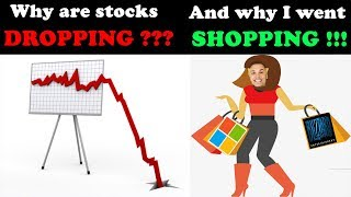 Why Are Stocks Dropping?! - (All The Reasons Explained)