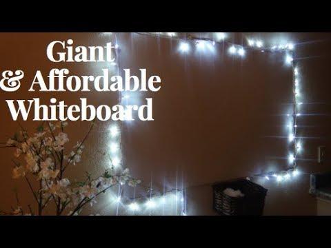 Diy Giant Whiteboard