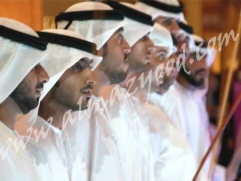 UAE Arabic Khaleeji Music Almazyood  فرقة المزيود الحربية الورد
