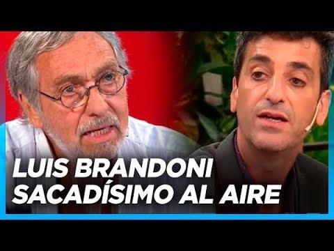 Brandoni sacado, empieza a los gritos cuando le preguntan por los nuevos pobres