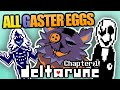 ALL Deltarune Chapter 1 GASTER EGGS Easters Eggs, Secrets, and References Revised