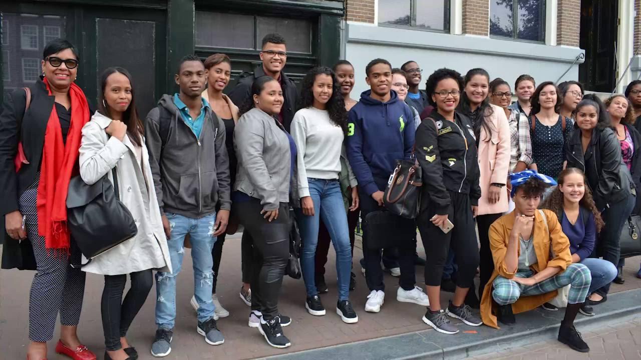 Bezoek Anne Frank Huis september 2016 - YouTube