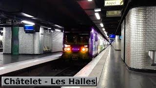 Châtelet - Les Halles | RER A - B - D : Paris ( RATP MI09 - MI84 - MI79 - SNCF Z20500 )