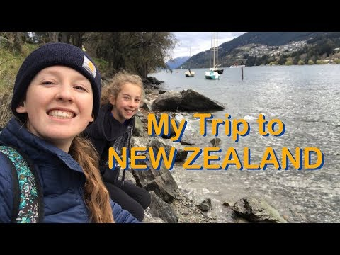 New Zealand Vlog // Art Journal Process