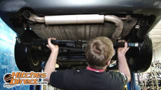 Trailer Hitch Installation-2007 Dodge Grand Caravan w/Stow 'n Go