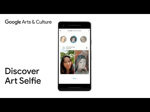 Art Selfie - a playful way to discover art by Google Arts & Culture