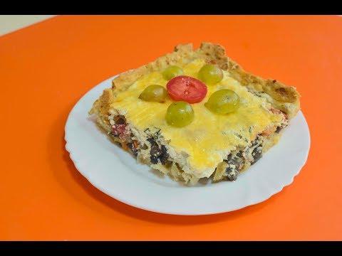пирог из сметаны в духовке рецепт пошагово в