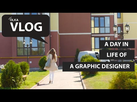A Day In The Life Of A Freelance Graphic Designer | Art Olka Vlog