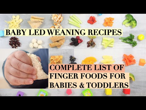 HOW TO CUT FOOD FOR BABY LED WEANING | FINGER FOOD RECIPES FOR BABY/TODDLER | FINGER FOOD IDEAS BLW