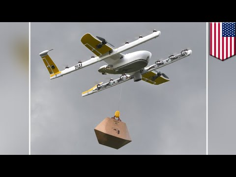 Delivery drones: FAA approves Alphabet-owned Wing for flight - TomoNews