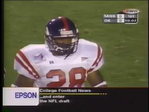 1999 Oklahoma vs Mississippi - Independence Bowl