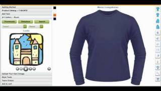 Custom Tee Shirts Making Software and Application Tool, Creator or Maker by CBSAlliance.com