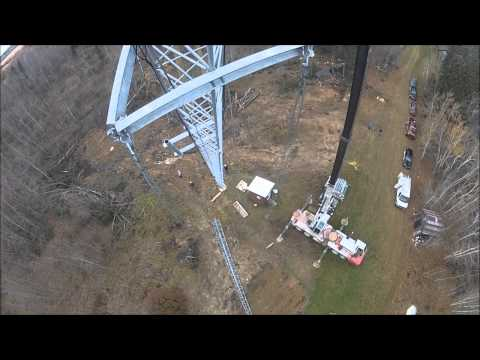 Installing a Wireless Internet Tower