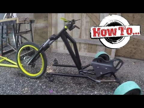 how to build a homemade drift trike on a budget part 1 - Drift Trike Frame