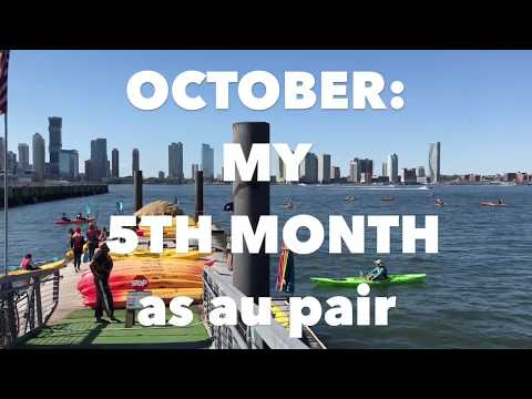au pair Brooklyn: October month 5   HALLOWEEN, CLASSES  (with English subtitles)