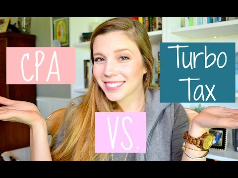 TAXES : CPA Vs Turbo Tax || Life With Sarah