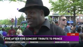 columbia native and prince s former drummer john blackwell jr spoke with wltx