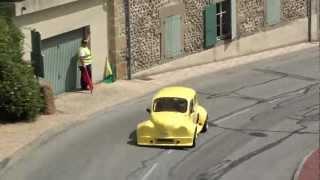 EXCEPTIONNEL ! Une modeste 4cv en course de côte.Châteauneuf de Galaure 2011 hand spinner