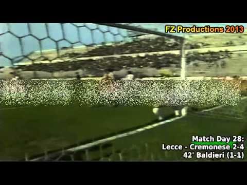 Serie A 1993-1994, day 28 Lecce - Cremonese 2-4 (Baldieri goal)